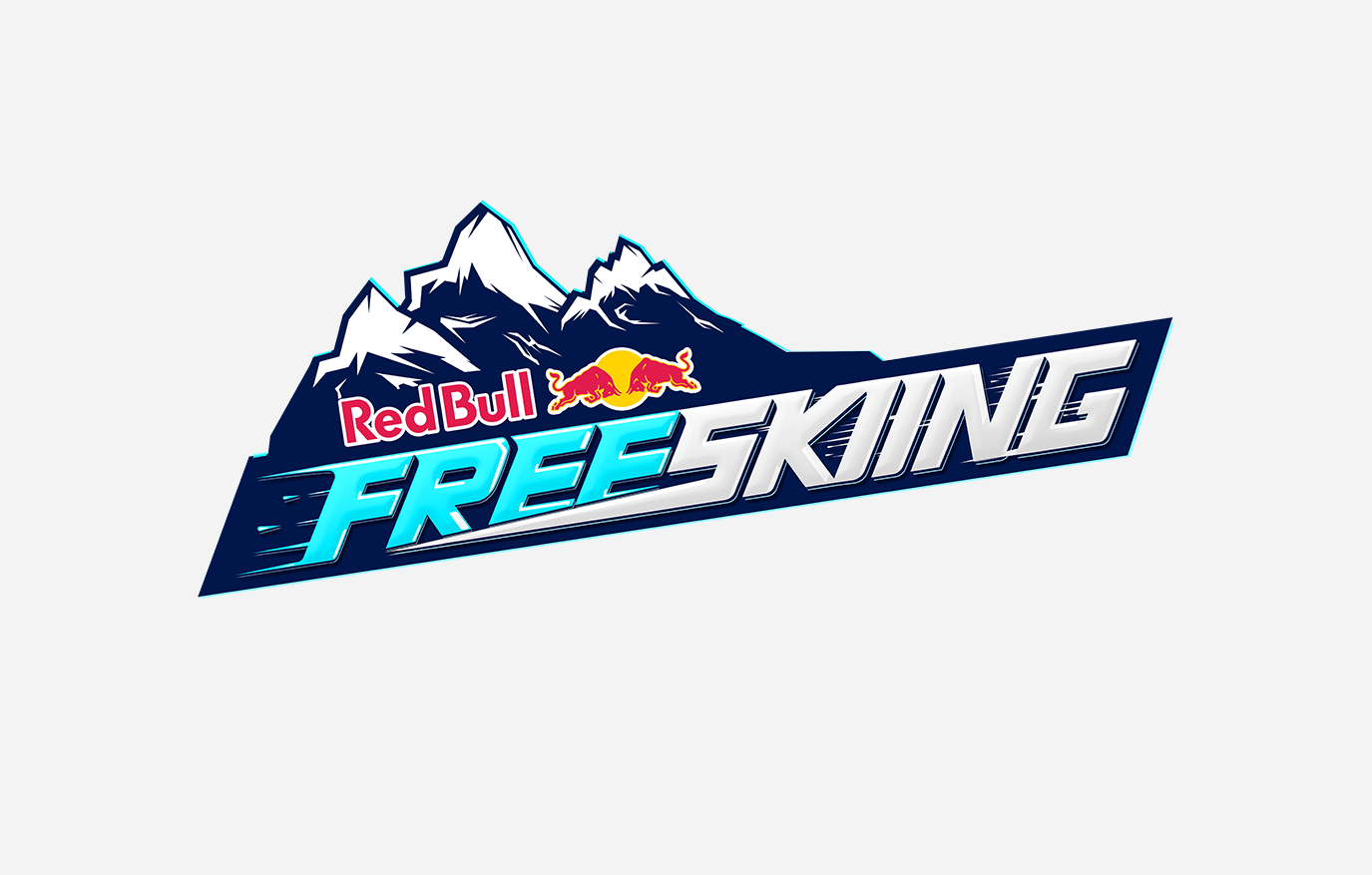 Red Bull Free Skiing Is A Downhill Ski Racing Game. Our Brief Was To Create  Evocative Key Art Using The In Game Graphic Style, Develop An App Icon And  ...